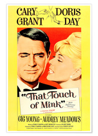 Premium poster  THAT TOUCH OF MINK, 1962