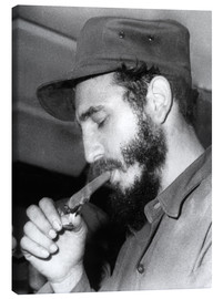 Canvas  Fidel Castro