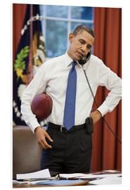 Forex  President Barack Obama talks on the phone