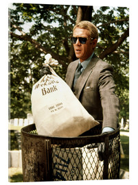 Acrylic print  Steve McQueen, The Thomas Crown Affair