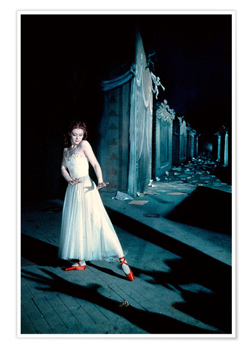 Premium poster The Red Shoes, Moira Shearer