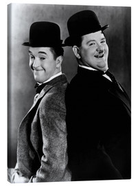 Canvas  Stan Laurel & Oliver Hardy