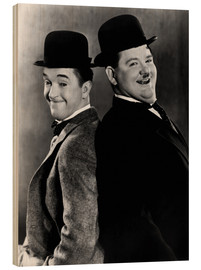 Wood  Stan Laurel & Oliver Hardy