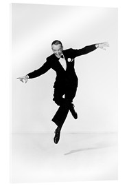 Acrylic glass  Fred Astaire