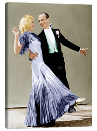 Canvas print  THE GAY DIVORCEE, Ginger Rogers, Fred Astaire