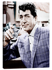Canvas print  Dean Martin in a plaid jacket