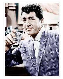 Poster  Dean Martin in a plaid jacket
