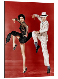 Aluminium print  THE BAND WAGON, from left: Cyd Charisse, Fred Astaire, 1953