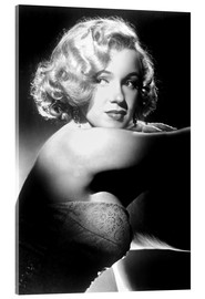 Acrylic glass  Marilyn Monroe