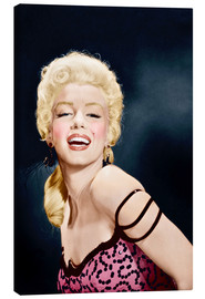 Canvas print  RIVER OF NO RETURN, Marilyn Monroe, 1954