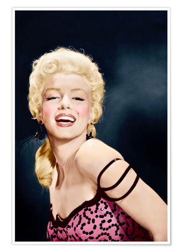 Premium poster RIVER OF NO RETURN, Marilyn Monroe, 1954