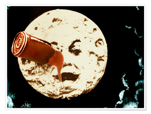 Premium poster A Trip to the Moon