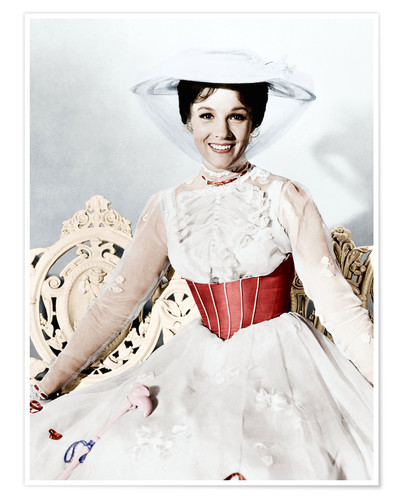 Premium poster Julie Andrews as Mary Poppins
