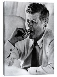 Canvas print  John F. Kennedy