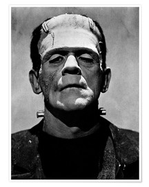 Premium poster  Boris Karloff as Frankenstein