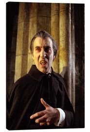 Canvas print  Taste the Blood of Dracula ?, Christopher Lee, 1970