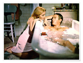 Tuesday Weld and Steve McQueen in The Cincinnati Kid