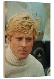 Wood print  THE WAY WE WERE, Robert Redford, 1973
