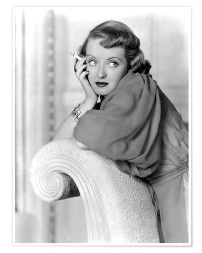 Premium poster MARKED WOMAN, Bette Davis