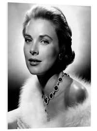 Foam board print  Grace Kelly