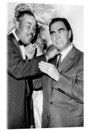 Acrylic print  Max Schmeling and Joe Louis