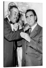 Alu-Dibond  Max Schmeling and Joe Louis