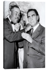Canvas  Max Schmeling and Joe Louis