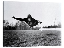 Canvas  Vince Lombardi, (1913-1970), future General manager of the Green Bay Packers and one of the most suc