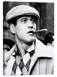 Canvas print  Somebody Up There Likes Me, Paul Newman