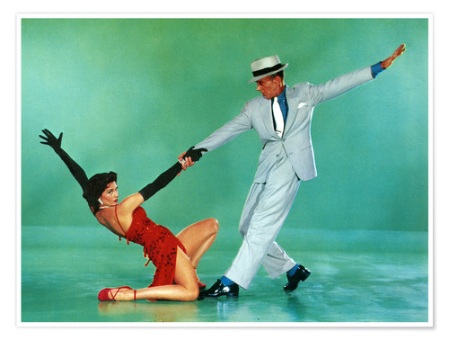 Premium poster THE BAND WAGON, Cyd Charisse, Fred Astaire, 1953