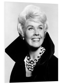 Foam board print  Doris Day, early 1960s