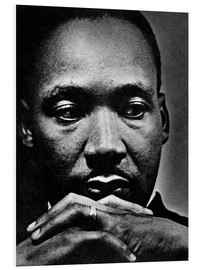 Foam board print  Martin Luther King Jr.