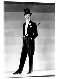 Acrylic glass  Fred Astaire in 1930