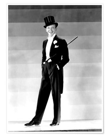 Premium poster Fred Astaire in 1930