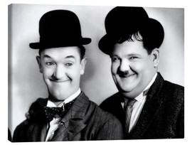 Canvas  Laurel & Hardy
