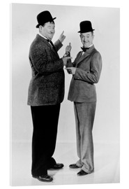 Acrylic glass  Oliver Hardy and Stan Laurel