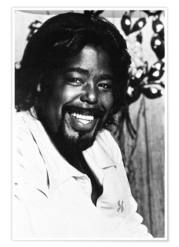 Premium poster Barry White