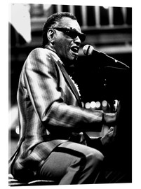 Acrylic glass  Ray Charles