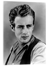 Acrylic glass  James Dean