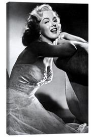 Canvas print  ALL ABOUT EVE, Marilyn Monroe