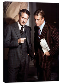 Canvas print  THE STING - Paul Newman and Robert Redford