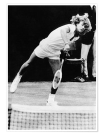 Bjorn Borg at Wimbledon, 1974