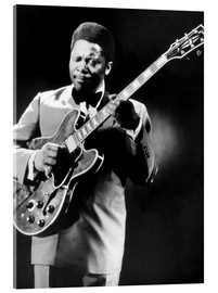 Acrylic print  B.B. King and Lucille
