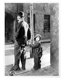 THE KID, Charles Chaplin, Jackie Coogan, 1921