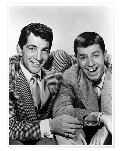 Premium poster Dean Martin and Jerry Lewis