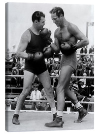Canvas print  Jack Dempsey and Max Baer