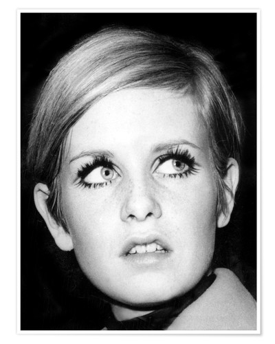 Premium poster Twiggy (Leslie Hornby)