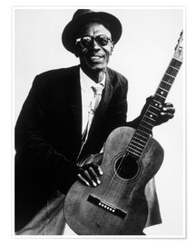 Premium poster Lightnin' Hopkins