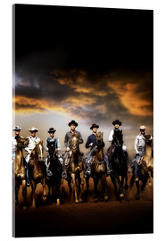 Acrylic print  THE MAGNIFICENT SEVEN