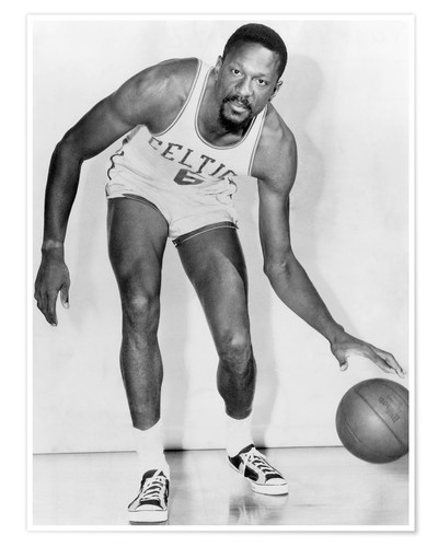 Premium poster Bill Russell